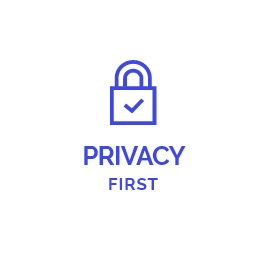 We care about your privacy!